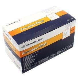 Procedure Mask, w/Earloops, Yellow - 50/Box