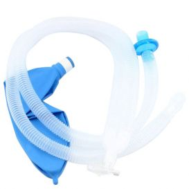 """Anesthesia Breathing Circuit Adult 40""""  3L Breathing Bag - 20/Case"""