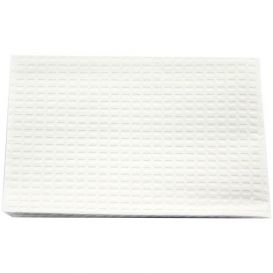"""Patient Towel Tissue/Poly 13"""" x 18"""" 3-Ply White - 500/Case"""