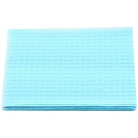 "Patient Towel Tissue/Poly 13"" x 18"" 3-Ply Blue - 500/Case"