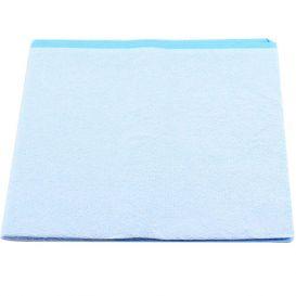 "Drape Sheet 40"" x 48"" Non-Sterile Blue - 100/Case"