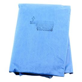 "Tiburon® Drape Split Sheet w/o Adhesive 77"" x 108"" - 10/Case"