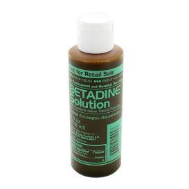 Betadine® Topical Solution, 4 oz Bottle