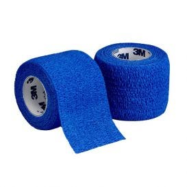 "Coban™ Self-Adherent Wrap, Blue, 2"" x 5yds - 36/Box"