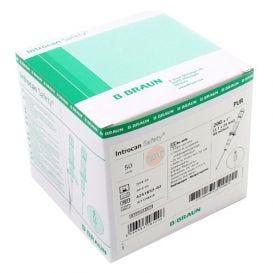 """Introcan® Safety IV Catheter 20G x 1"""" Straight Polyurethane - 50/Box"""