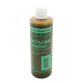 Betadine Soution 8oz