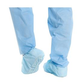 X-TRA TRACTION Shoe Cover, Universal, Blue - 100/Box