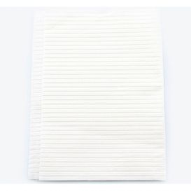 "Poly-Gard® Patient Towels, 3-Ply Tissue with Poly, 19"" x 16"", White - 500/Case"