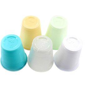 Plastic Cups, 5 oz, White - 1000/Case