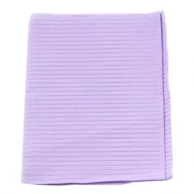 "Polyback® Patient Towels, 3-Ply Tissue with Poly, 19"" x 13"", Lavender - 500/Case"