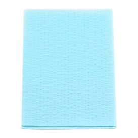 "Advantage Plus® Patient Towels, 3-Ply Tissue with Poly, 18"" x 13"", Blue - 500/Case"
