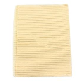 "Econoback® Patient Towels, 2-Ply Tissue with Poly, 19"" x 13"", Beige - 500/Case"