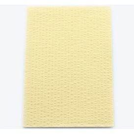 "Advantage Patient Towels, 2-Ply Tissue with Poly, 18"" x 13"", Beige - 500/Case"