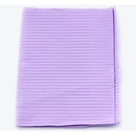 """Proback® Patient Towels, Extra Heavy Tissue with Poly, 19"""" x 13"""", Lavender - 500/Case"""