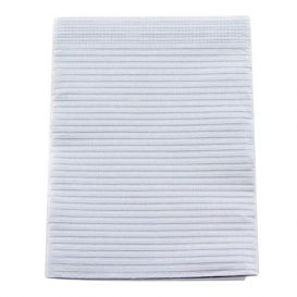 """Proback® Patient Towels, Extra Heavy Tissue with Poly, 19"""" x 13"""", Silver Grey - 500/Case"""