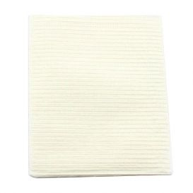 """Proback® Patient Towels, Extra Heavy Tissue with Poly, 19"""" x 13"""", White - 500/Case"""