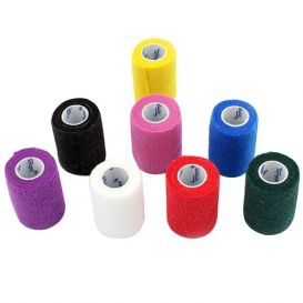 """Co-Ease Cohesive Bandage Assorted Colors 3"""" x 5Yds - 24/Box"""