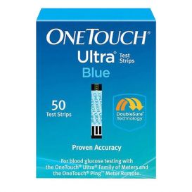 OneTouch® Ultra® Blue Test Strips - 50/Box