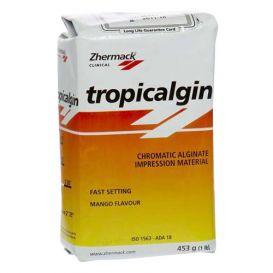 Tropicalgin Alginate Fast Set Refill 453g (1 lb) Bag Mango Flavor