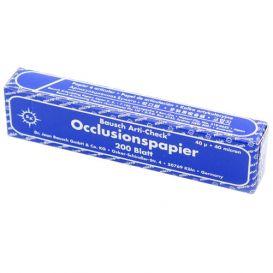 Arti-Check® Articulating Paper Straight Blue 40 Micron - 200/Box