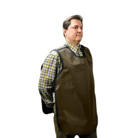 "Dual X-Ray Apron, Pano-Adult, .3 mm, 22.5"" x 26.5"", Beige Vinyl"