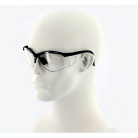 ProVision™ See-Breeze Eyewear Black Frame Clear Lens