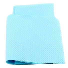 "Oral Surgery Bib 18"" x 25"" 3Ply Blue - 250/Case"
