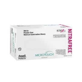 Micro-Touch® NitraFree™ Exam Gloves, Large, Nitrile, Powder-Free - 100/Box