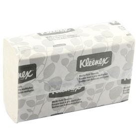 "Kleenex® Multi-Fold Towels, 9.2"" x 9.4"", White - 2400/Case"