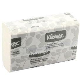 "Kleenex® Multi-Fold Towels, 9.2"" x 9.4"", White - 2400/Case"