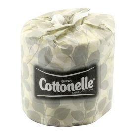 """Kleenex® Cottonelle® Bathroom Tissue, 4.09"""" x 4"""", White - 60 Rolls/Case"""