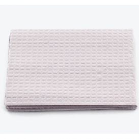 """Patient Towel Tissue/Poly 13"""" x 18"""" 3-Ply Gray - 500/Case"""