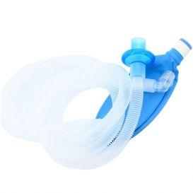 "Anesthesia Breathing Circuit Pediatric 40""  Corrugated 1L Breathing Bag"