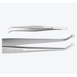 Tissue Forceps, Serrated, with Loop