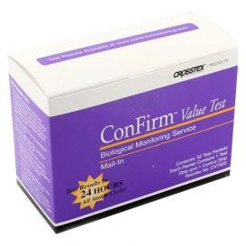 ConFirm® Mail-in Sterilizer Monitoring Service - Value Test Service, 52 Tests (2 Strip Test) - 52/Box