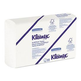 "KLEENEX® SLIMFOLD* Towels, 7.5"" x 11.6"", - 2160/Case"