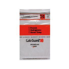 "Lab Guard® Biohazard Speciman Bag, 6"" W x 9"" H - 100/Bag"