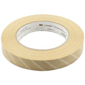"""Comply™ Steam Indicator Tape, .70"""" x 60yds,"""