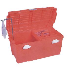 Large Medical Emergency Box, Orange