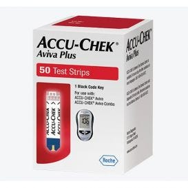 ACCU-CHEK® Aviva Plus Test Strips (for Health Network Use) - 50/Box