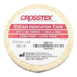 "Steam Indicator Tape, 3/4"" x 60 yds,"