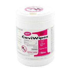 "CaviWipes1™ 1 Minute, 1 Step Germicidal Wipes, 9"" x 12"" Extra Large, - 65/Canister"