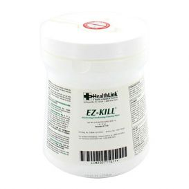 "EZ-KILL® Disinfecting Deodorizing Cleaning Wipes, 6"" x 6.75"", 160/Canister - 160/Canister"