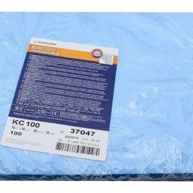 "KIMGUARD ONE-STEP Sequential Sterilization Wrap, 15"" x 15"" 100/Bag - 100/Bag"