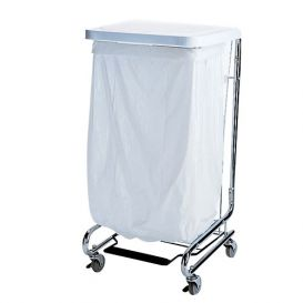 "Waste Can Liner White 33 Gallon .75mil 33"" x 39"" - 150/Case"