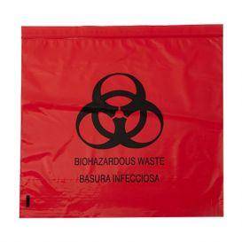 "Biohazard Red Bag 31"" x 43"" 33 Gallon 1.2 mil - 200/Case"