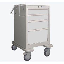 Medical Cart, 4-Drawer, Steel