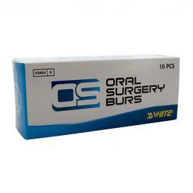 Oral Surgery Bur, #1703L Taper/Round End Cross Cut, Shank #2 (51mm), Sterile - 10/Box