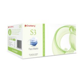 Earloop Mask ASTM Level 2 Blue - 50/Box