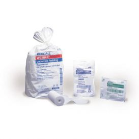 "Webril™ Cotton Undercast Padding 4"" x 4 Yards - 12/Box"